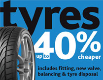Tyres - Ultra Competitive prices!